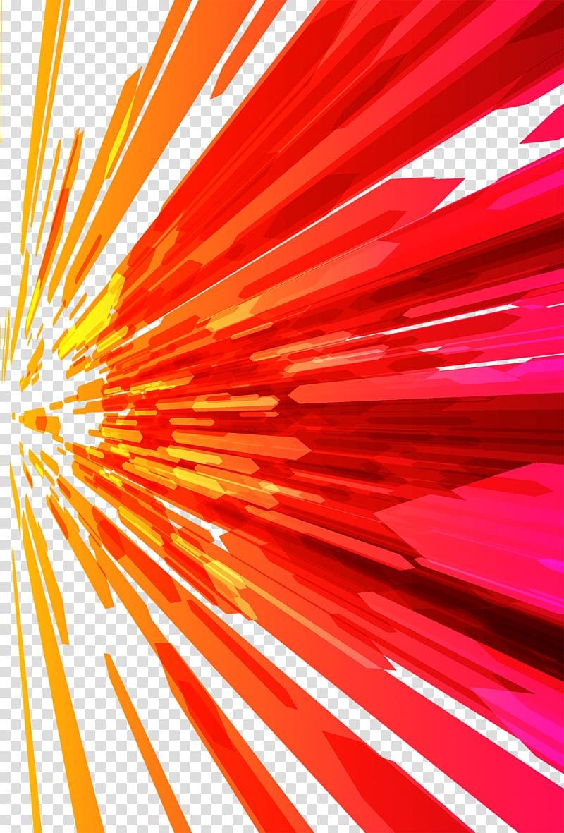 Red, yellow, and orange , Abstract art, Colorful technology.