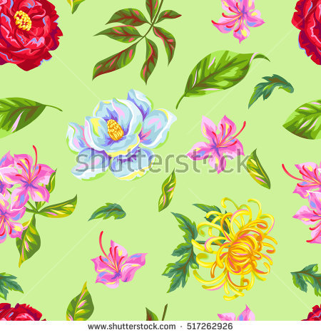Rhododendron Illustration Stock Photos, Royalty.