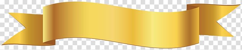 Yellow ribbon banner illustration, Banner Ribbon , Banner.