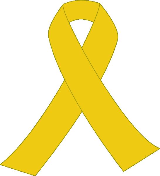 Yellow Ribbon With Border Clip Art at Clker.com.