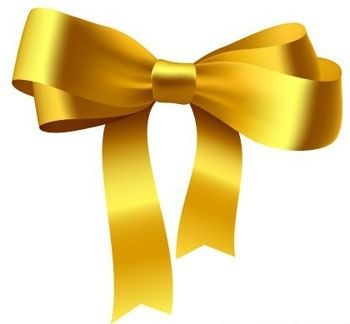 Yellow Ribbon Bow.