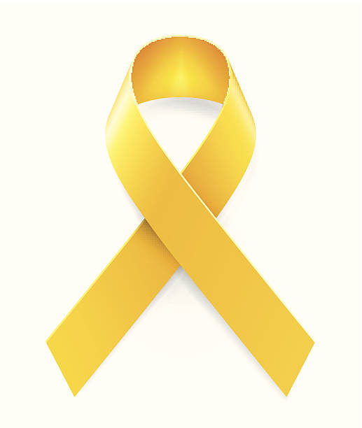 Best Yellow Ribbon Illustrations, Royalty.