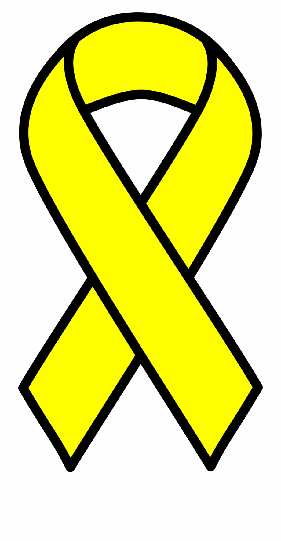 Support Our Troops Yellow Ribbon.