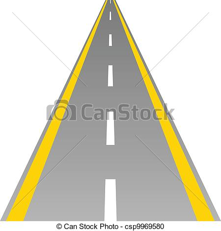 Road Line Clipart.