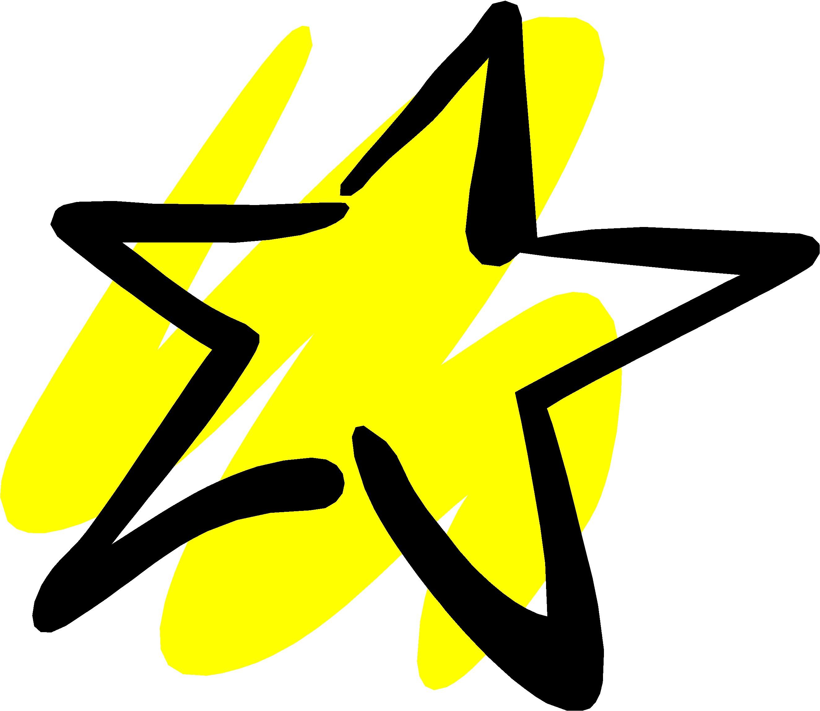 Clipart Yellow Star.