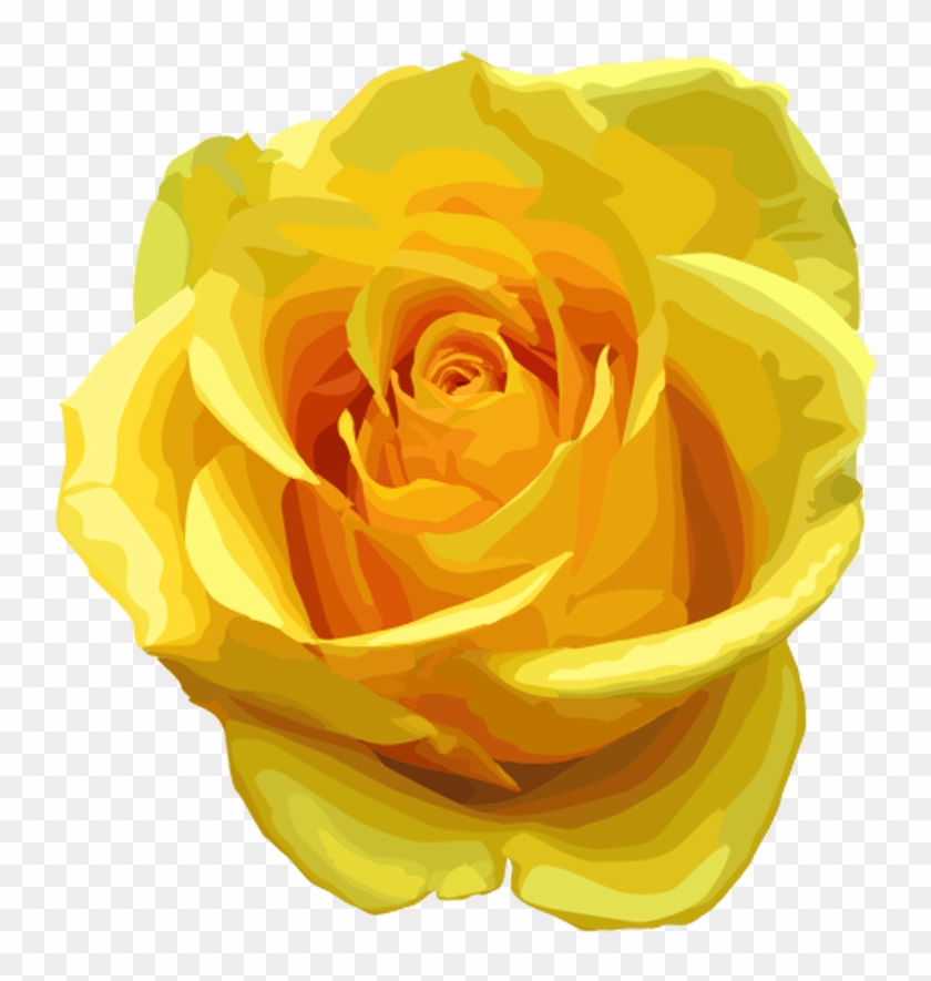 Yellow Rose Clipart Black And White.