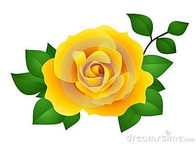 yellow rose clip art.