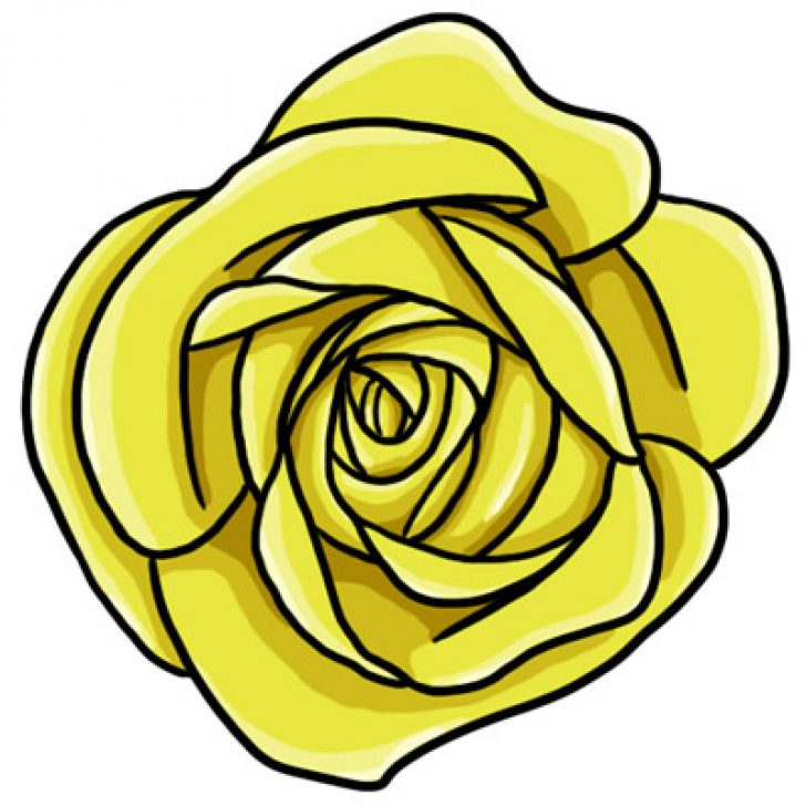 yellow rose of texas clipart.