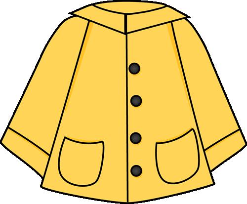 Raincoat Clip Art.