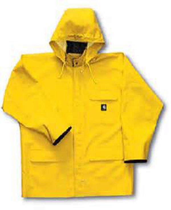 Plastic Cheap Mens Pvc Yellow Rubber Raincoat.