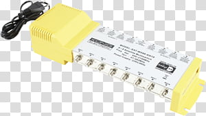 Multiswitch Yellow, Diseqc, Lownoise Block Downconverter.