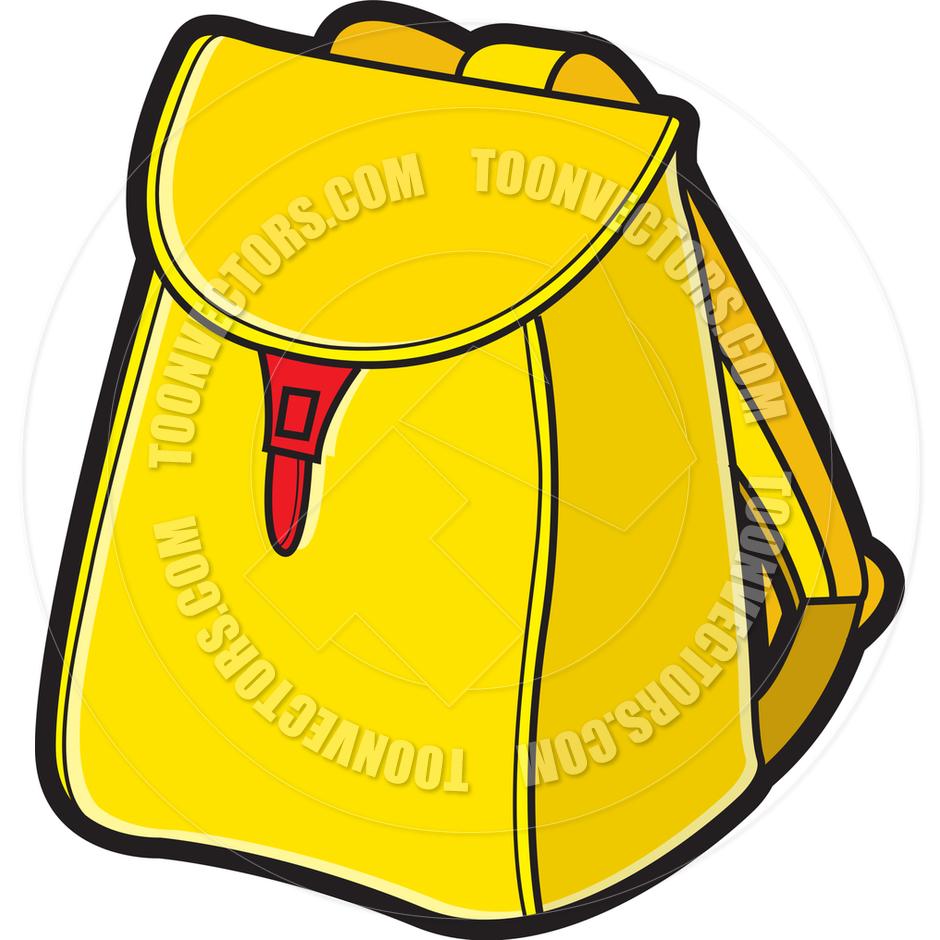 Yellow Bag Clipart.