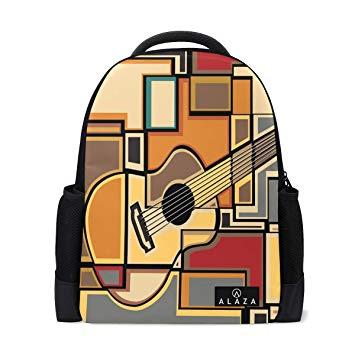Amazon.com: Colorful Acoustic Guitar School Bag Backpack.