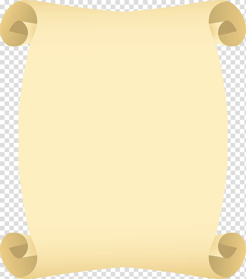 Paper Scroll Parchment Book, book transparent background PNG.