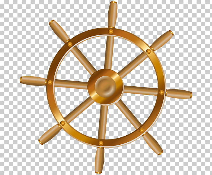 Ship\'s wheel Boat , Ship PNG clipart.