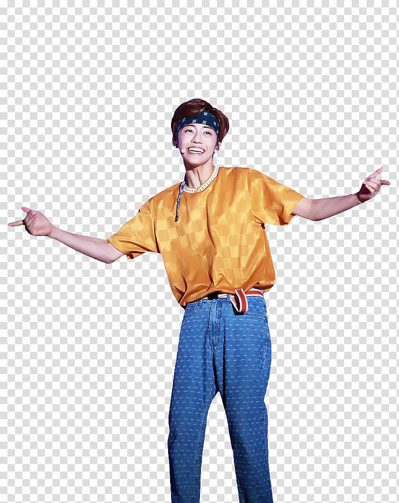 JAEMIN NCT DREAM, smiling man wearing yellow shirt and blue.
