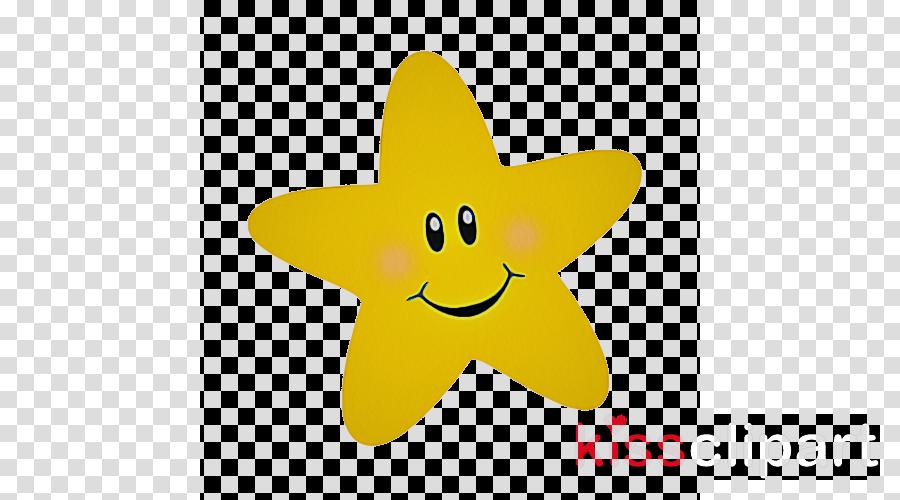 yellow smile smiley plant clipart.