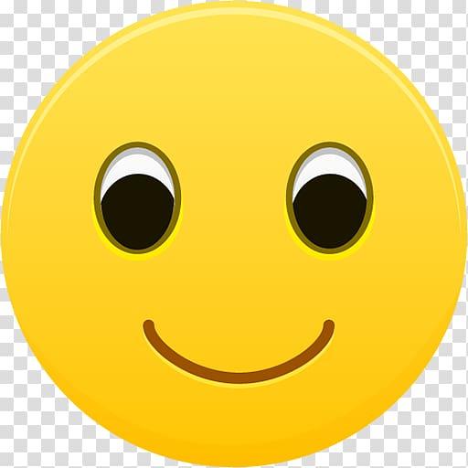 Smile emoji illustration, emoticon smiley yellow circle.