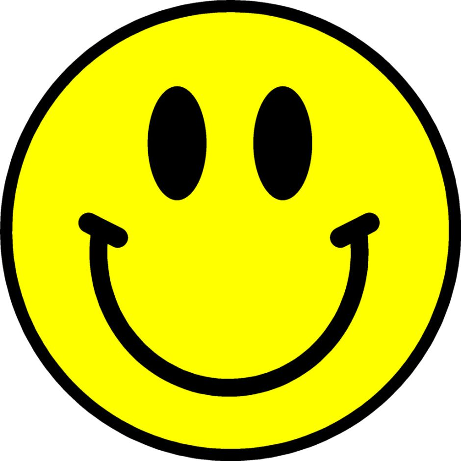 Image result for happy face clipart.