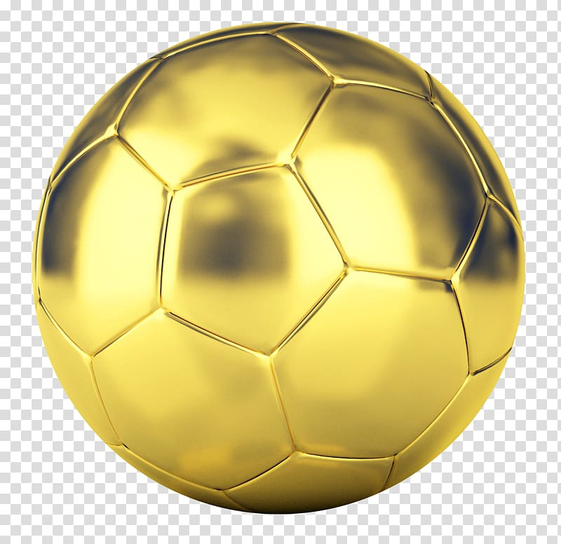 Gold soccer ball, American football, Golden Football.