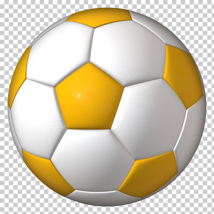 Football FIFA World Cup, Football, white and yellow soccer.