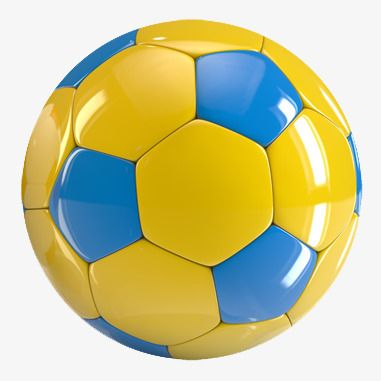 Childrens Soccer, Soccer Clipart, Blue And Yellow, Kids Toys.