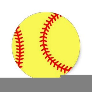 Softball Fastpitch Clipart.