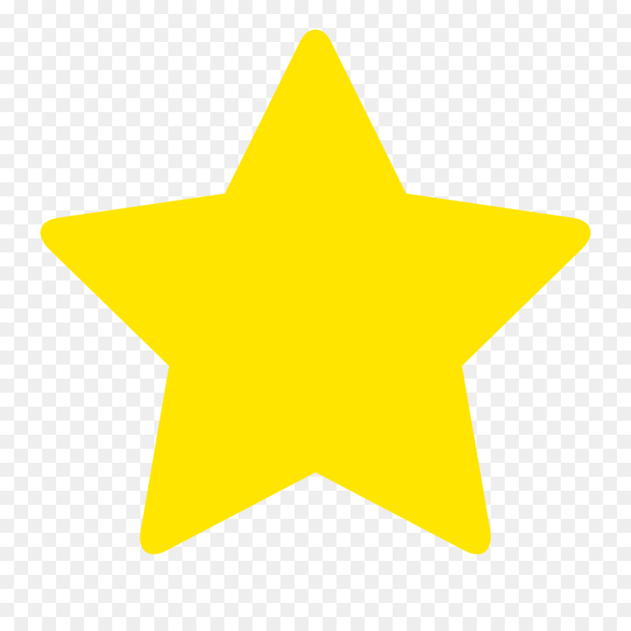 Yellow Star Color Clip Art.