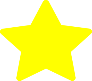 Large Yellow Star Clip Art at Clker.com.