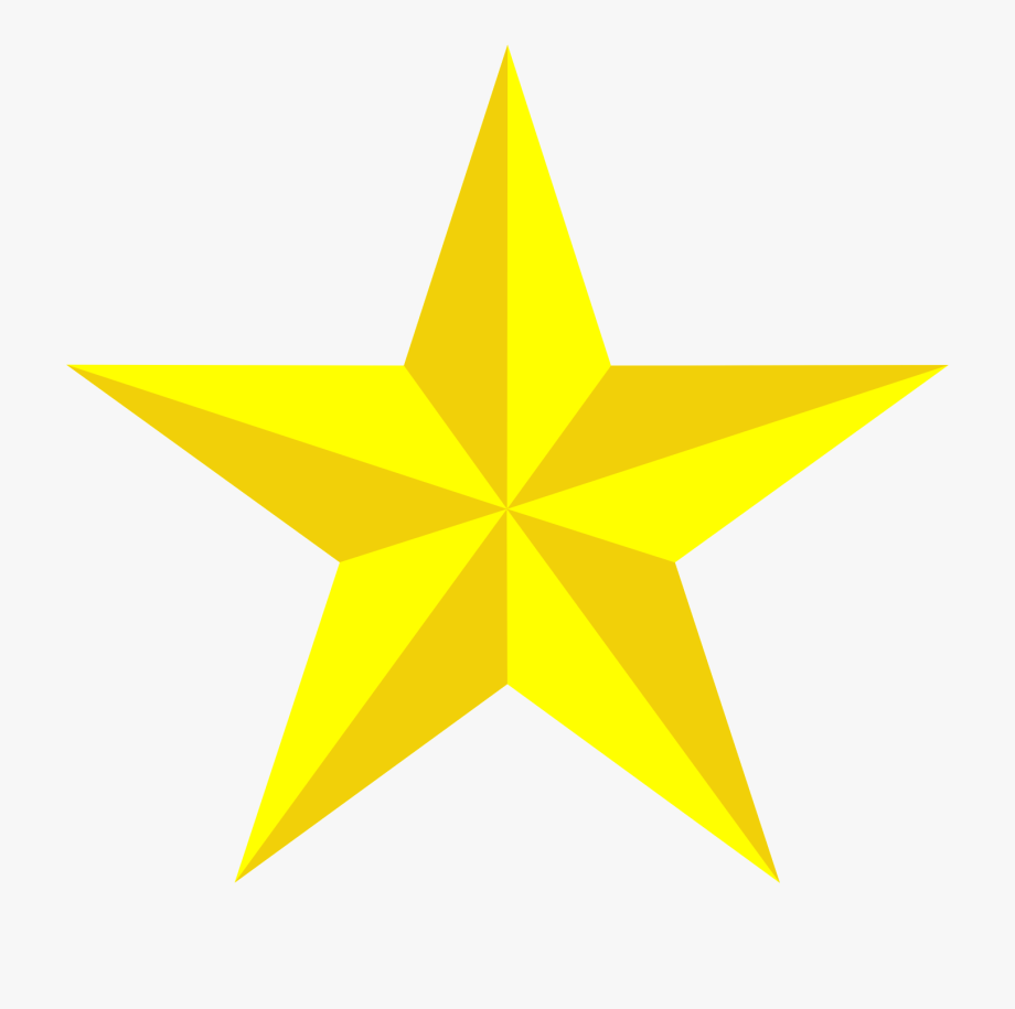 3d Star Clipart At Getdrawings.