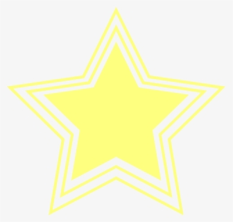Free Yellow Star Clip Art with No Background.