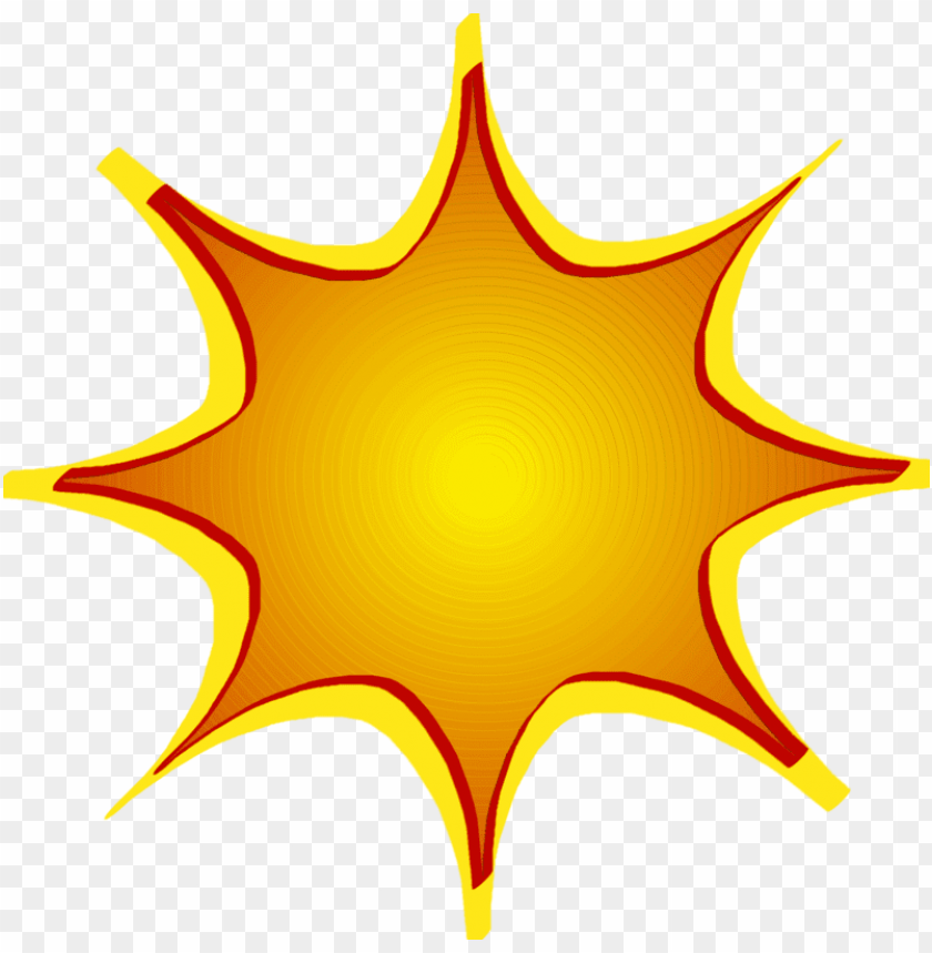 transparent graphic starburst clipart.