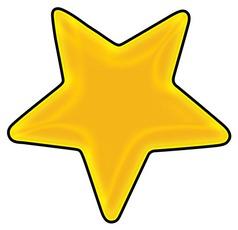 70+ Yellow Star Clip Art.