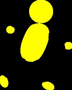 Yellow Man Running Clip Art at Clker.com.