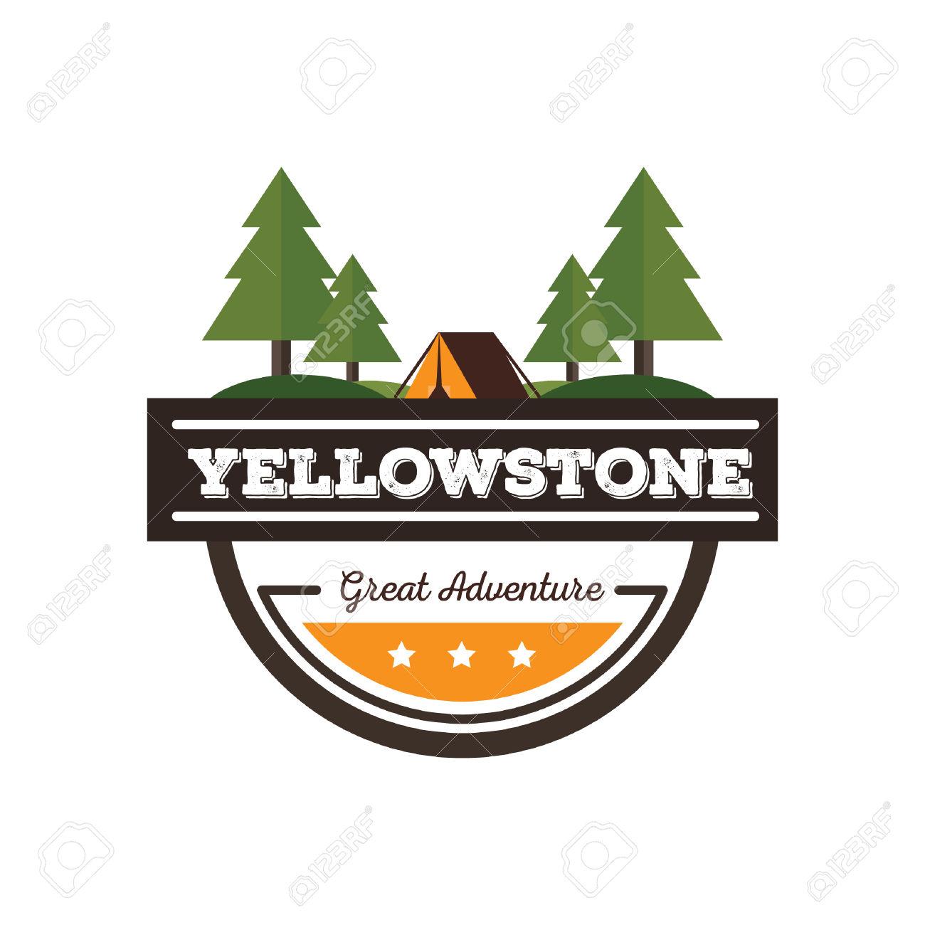 Yellowstone clipart.