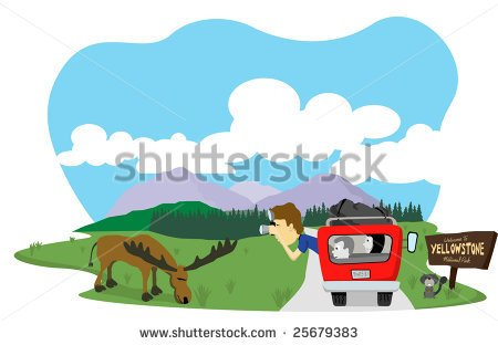 National Park Clipart.