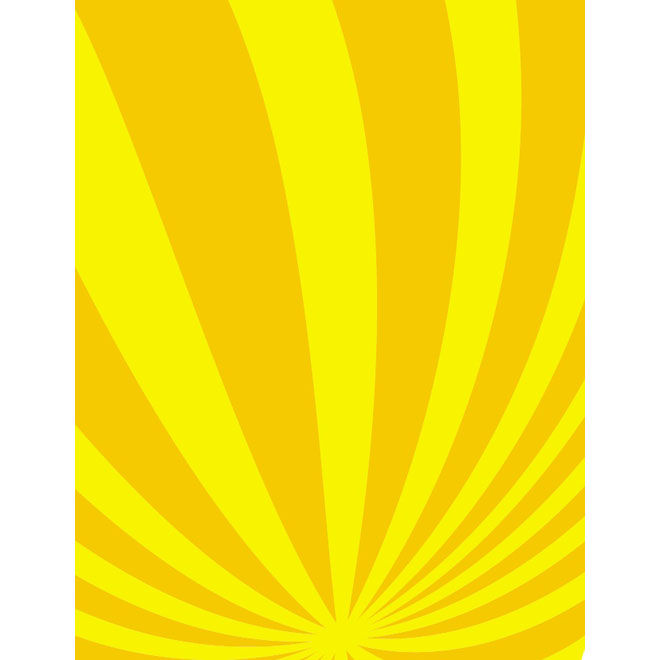 Yellow Stripes Background Free Vector.
