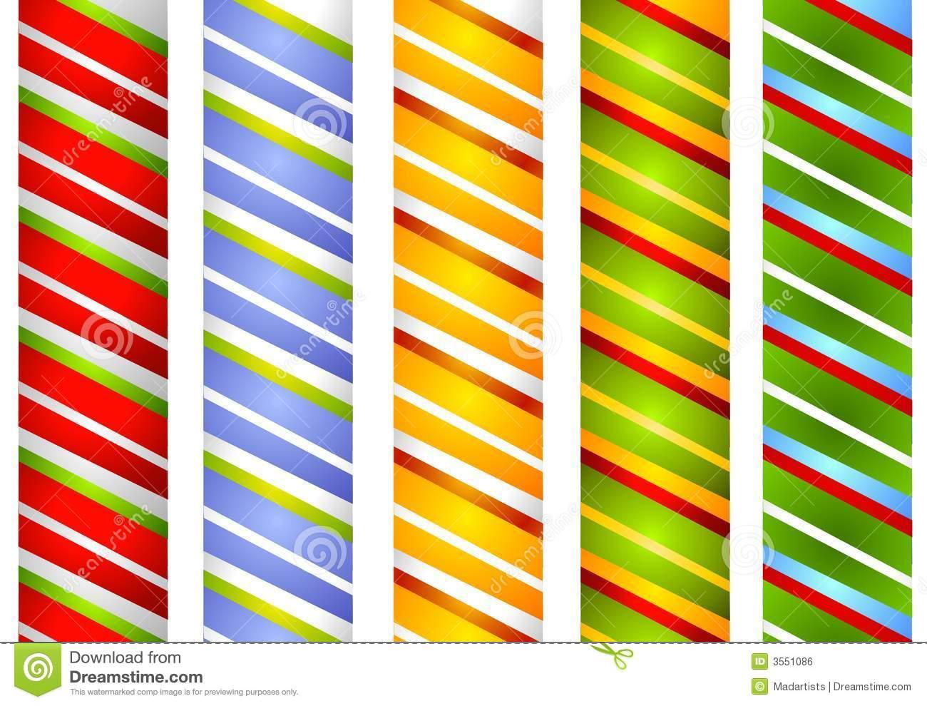 Clipart border of green stripe.