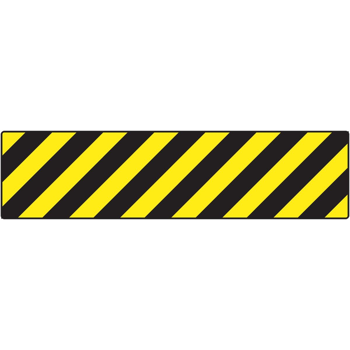 Yellow Black Caution Stripes.