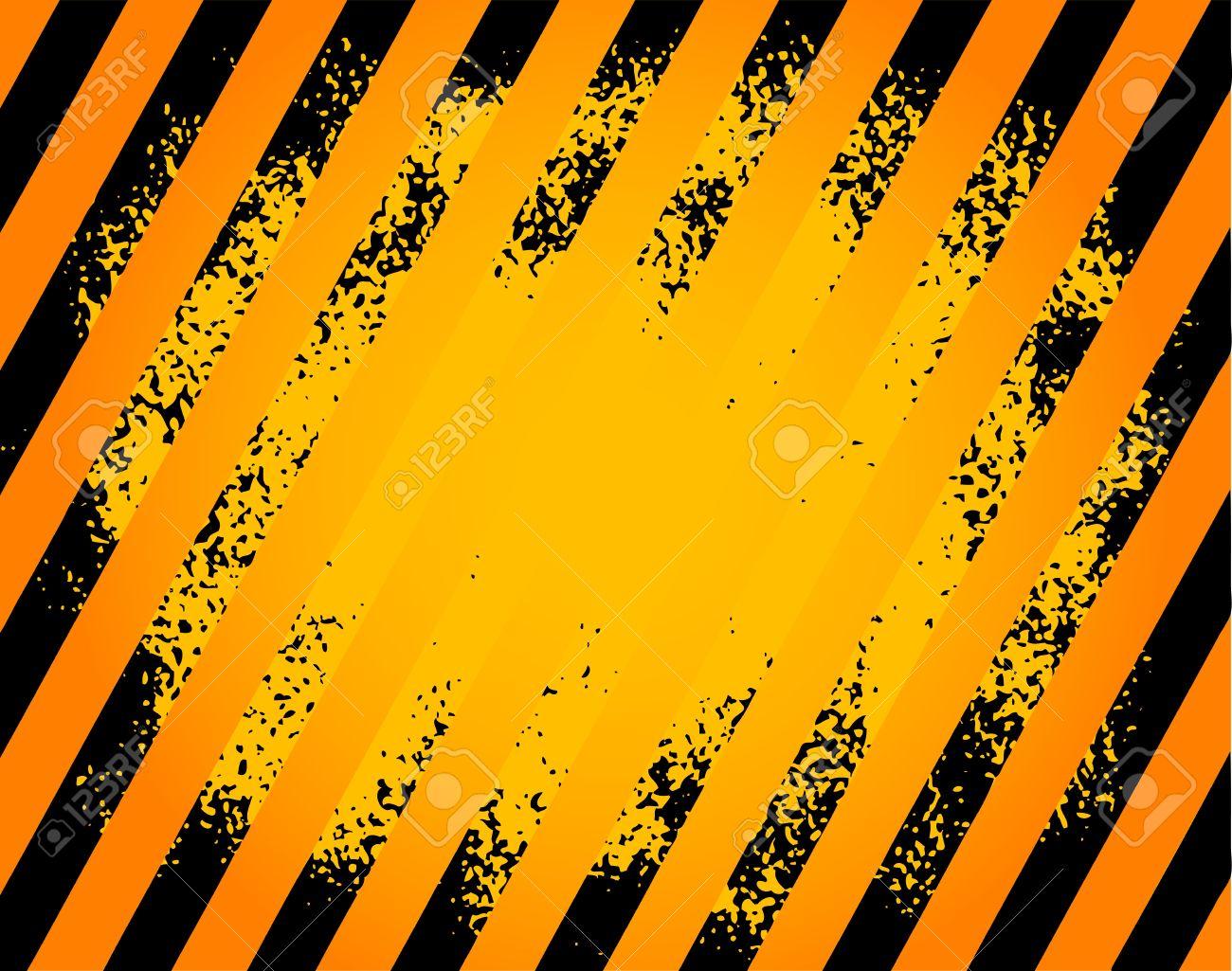 Hazard Stripe Background Free Clipart.