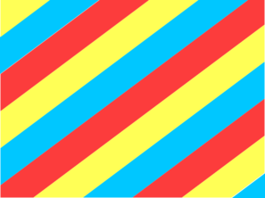 Blue, Yellow & Red Diagonal Stripes Clip Art at Clker.com.
