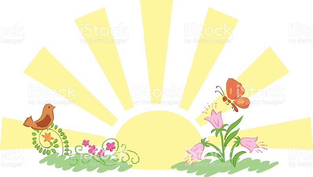 Sunrise And Summer Nature Vector stock vector art 468069474.
