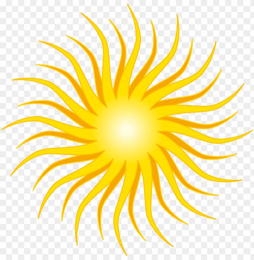 yellow, sun, round, orange, rays, shine.