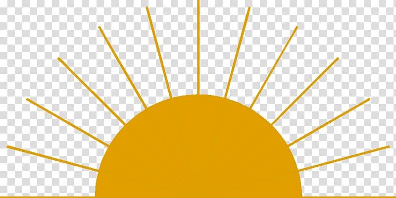 Orange sun , Sunrise , Sunrise transparent background PNG.