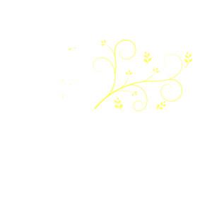 Light Yellow Swirl clip art.