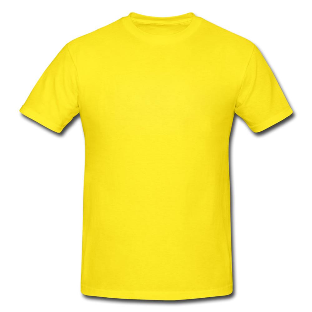 Yellow Shirt on a Hanger Clip Art.