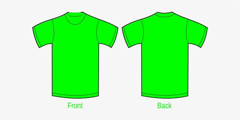 How To Set Use Plain Yellow Green Shirt Clipart.