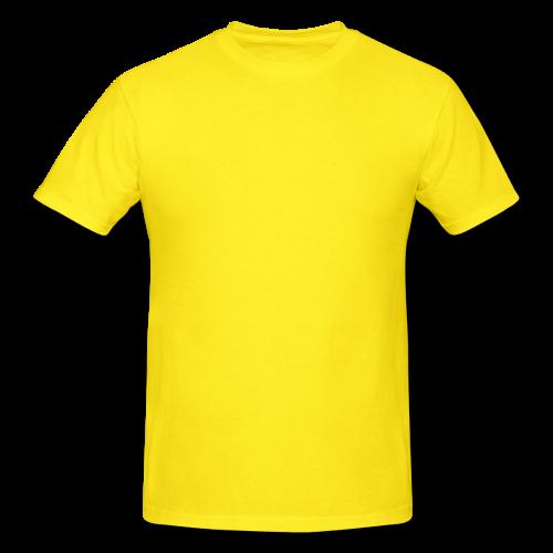 Yellow Color Tees Shirt.