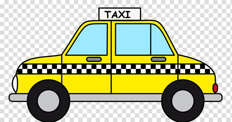 Taxicabs of New York City Yellow cab , taxi transparent background.