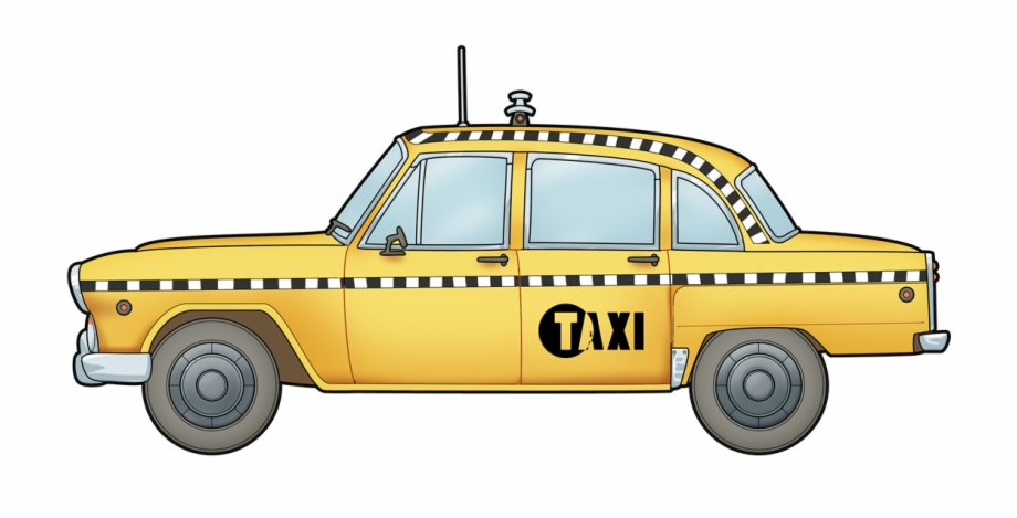 Taxi Clipart Animated.